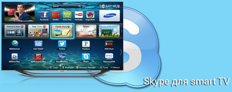 Скайп для телевизоров со смарт тв