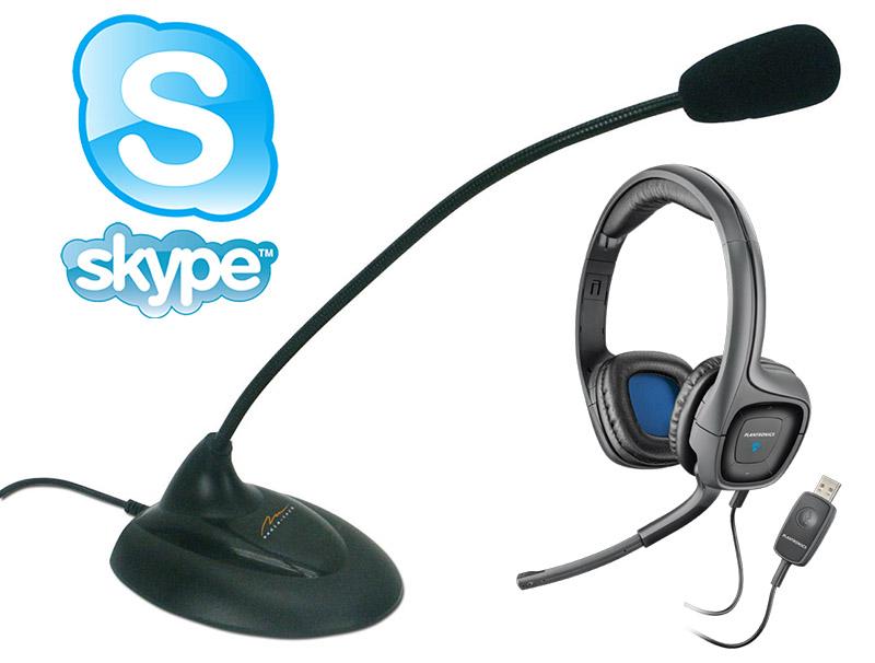 выбор микрофона для скайпа