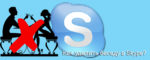 Как удалить беседу в Skype