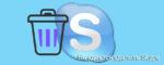 Не удается удалить Skype