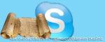 Как сохранить, скопировать историю сообщений скайпа
